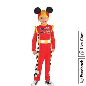 Mickey Roadster Costume - Toddler Size 2